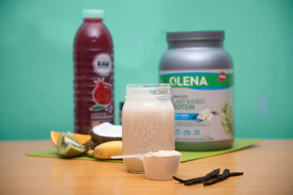 Olena X Raw Pressery: Antioxidant-rich Smoothie