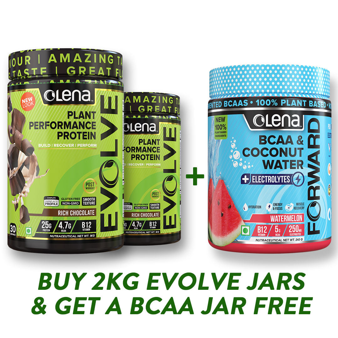 2KG Plant Protein + BCAA FREE