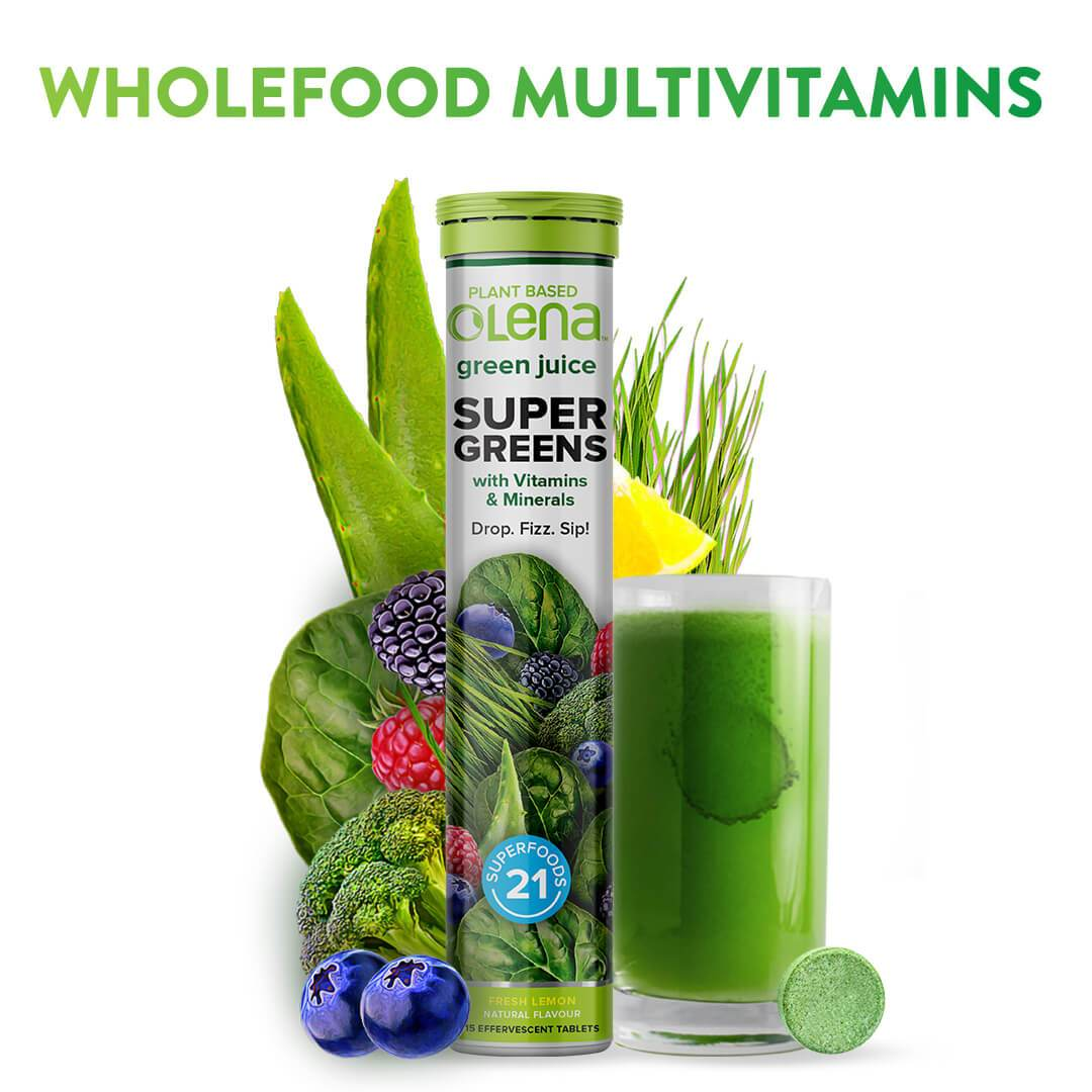 Super Greens & Multivitamins