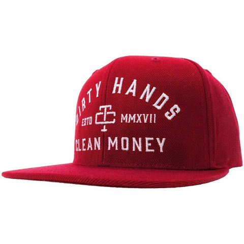 DHCM SNAPBACK RED