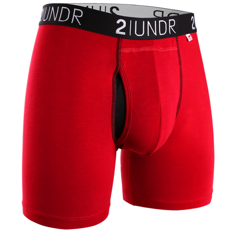 BOXER RED SWING SHIFT 2UNDR