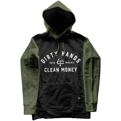 DIRTY HANDS CLEAN MONEY GREEN