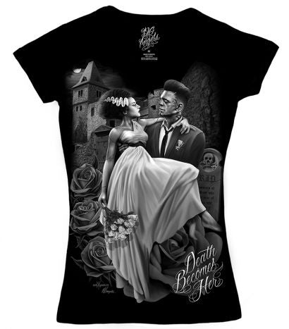 DGA DEATH BECOMES WOMEN'S TEE