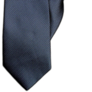 Dark Grey and Black Check Clip On Tie (JH-1098)