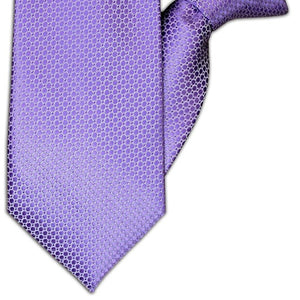 Lilac Spot Design Clip On Tie (JH-1072)