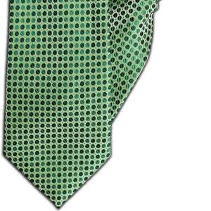 Green Spot Design Clip On Tie (JH-1111)