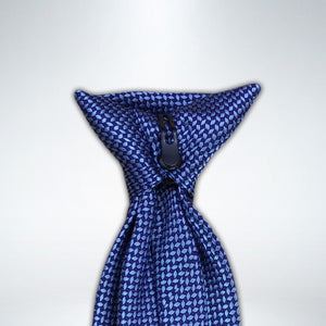 Blue Diamond Design Clip On Tie (JH-1087)