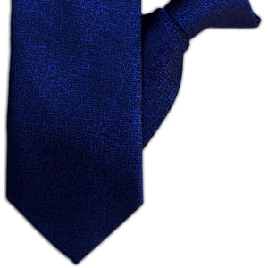 Royal Blue and Black Speckle Clip On Tie (JH-1134)