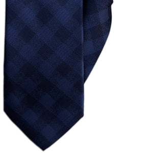 Blue Diamond Design Clip On Tie (JH-1143)