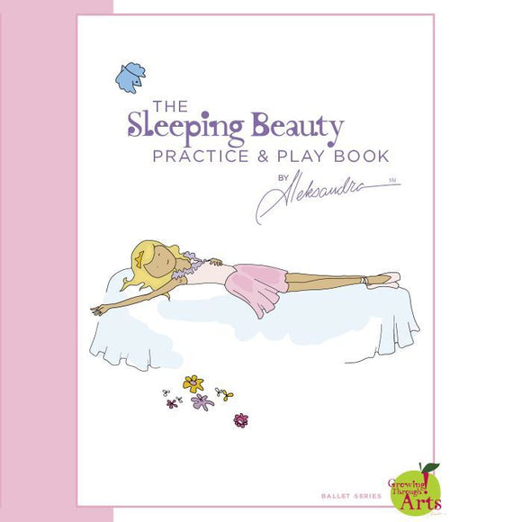 Sleeping Beauty Ballet Practice & Play Book