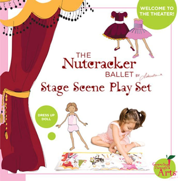 Nutcracker Ballet Stage Scene Playset