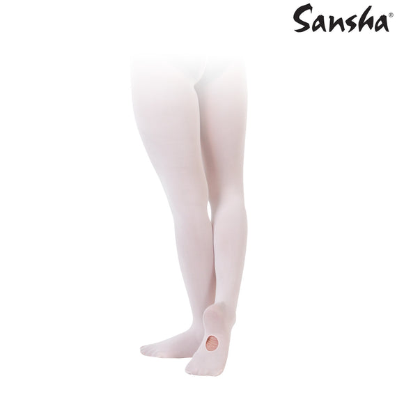 Sansha Convertible Tights - Niñas