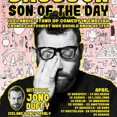 Son of the Day - Stand up tour Europe