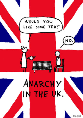Anarchy in the UK - poster