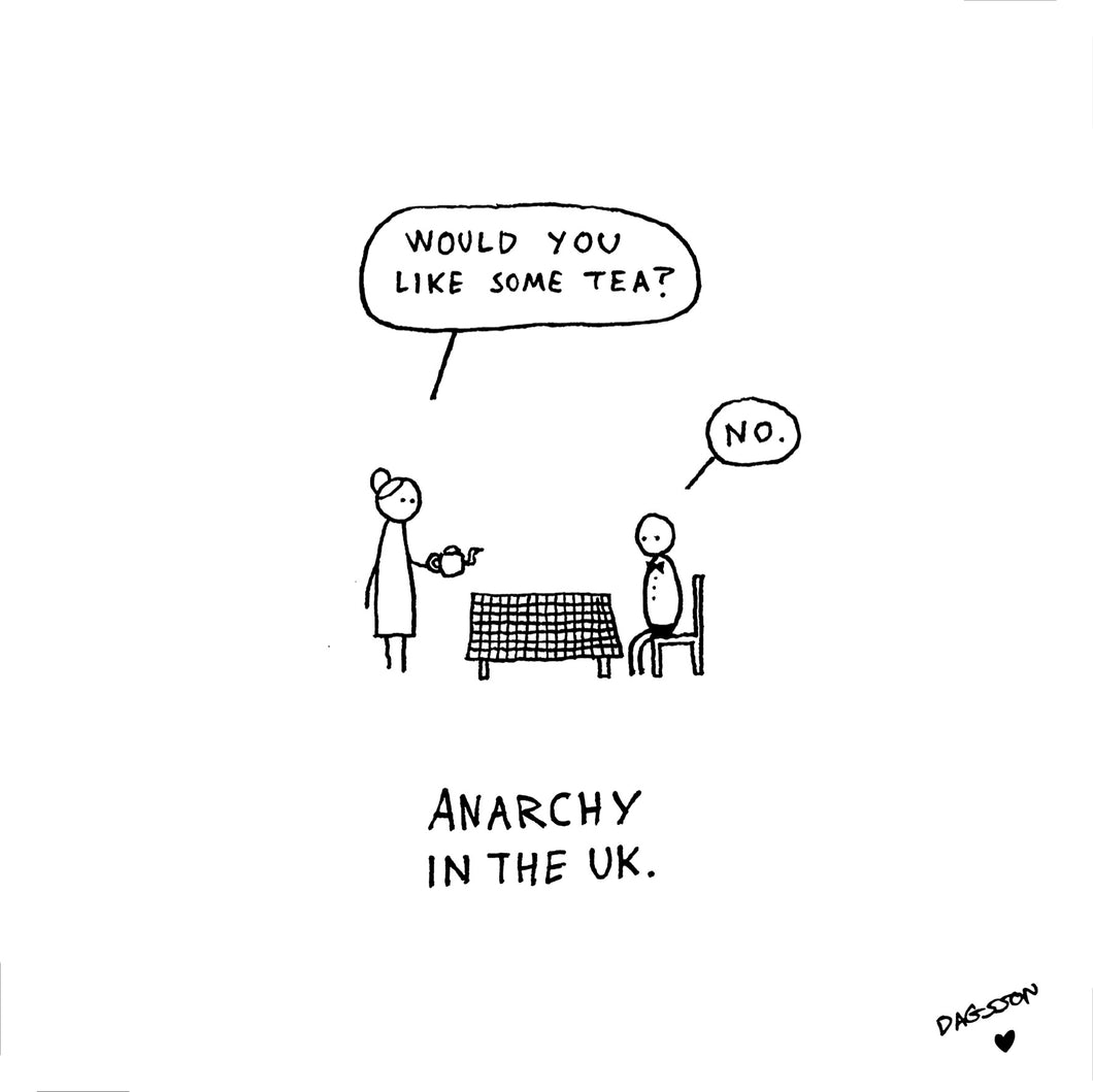 Anarchy in the UK - print