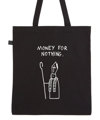 MONEY FOR NOTHING - TOTEBAG