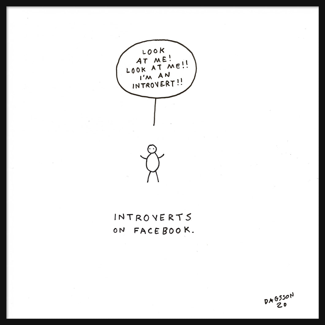 Introverts on Facebook