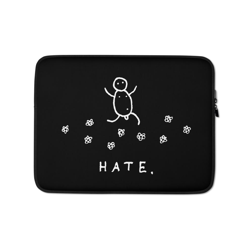 HATE  - laptop sleeve