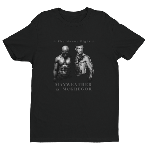 T-shirt McGregor vs Mayweather
