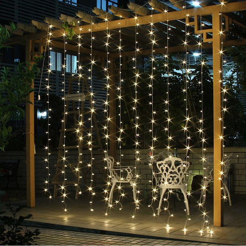4.5M x 3M 300 LED Icicle String Lights