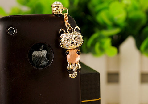 Phone Charm/Dust Plug for 3.5mm Headphone Jack