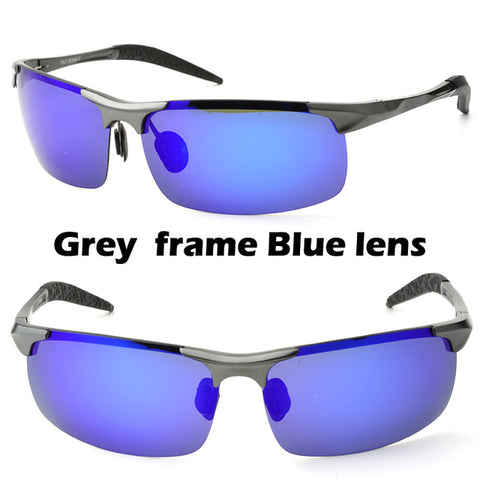 Driving/Hunting/Fishing glasses with magnesium frame &anti reflective coating