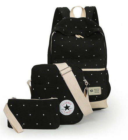 Jasmin Noir Bag Set