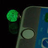 Image of Glow in the dark Phone Charm/Dust Plug for 3.5mm Headphone Jack