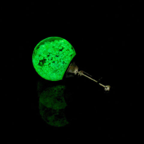 Glow in the dark Phone Charm/Dust Plug for 3.5mm Headphone Jack