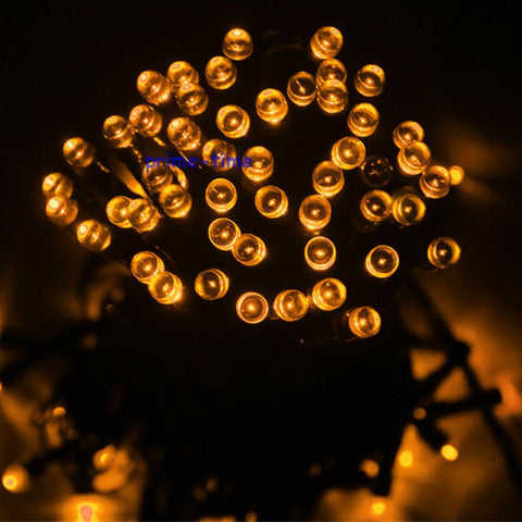 20M 200 LEDs Solar String Lights Christmas Outdoor Lights
