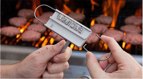 BBQ Meat Branding iron with 55 changeable letters