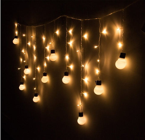 48 Beads with10 big size 5cm ball String LED Starry Light Rope