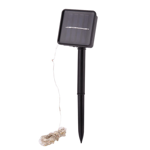 10m 100 LED Solar Lamps Fairy String Patio Lights 33ft Waterproof