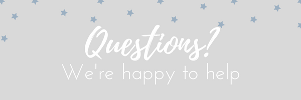 Questions? We're happy to help.