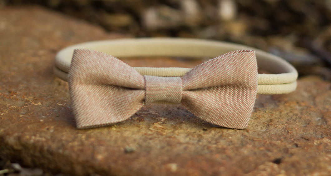 Linen Comfort Headband {Neutral}