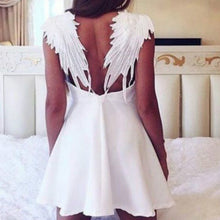 Black & White Angel Wings Dress