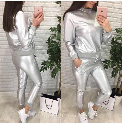 Aerospace Top Long Pants Set