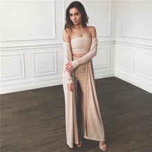 Two Pieces Velvet Top + Bottom Set