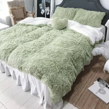 Luxury Fluffy 4 Pieces Bedding Set