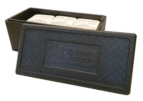 Thermo Menu Box - MEALS ON WHEELS CARRIER - 6 1/4