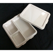 TKM3 Compartment Food Tray Base & Lid - Polycarbonate Pearl