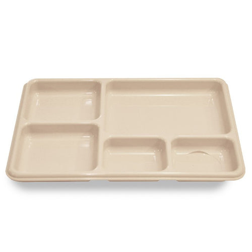 MT1 - 5 Compartment Food Tray- Polycarbonate
