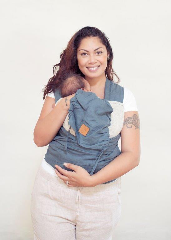 Wild Blue Wrap Baby Carrier