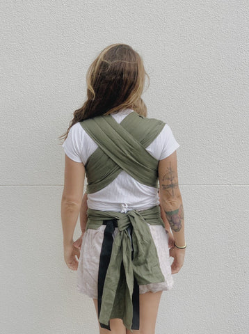 Eucalyptus Wrap Baby Carrier