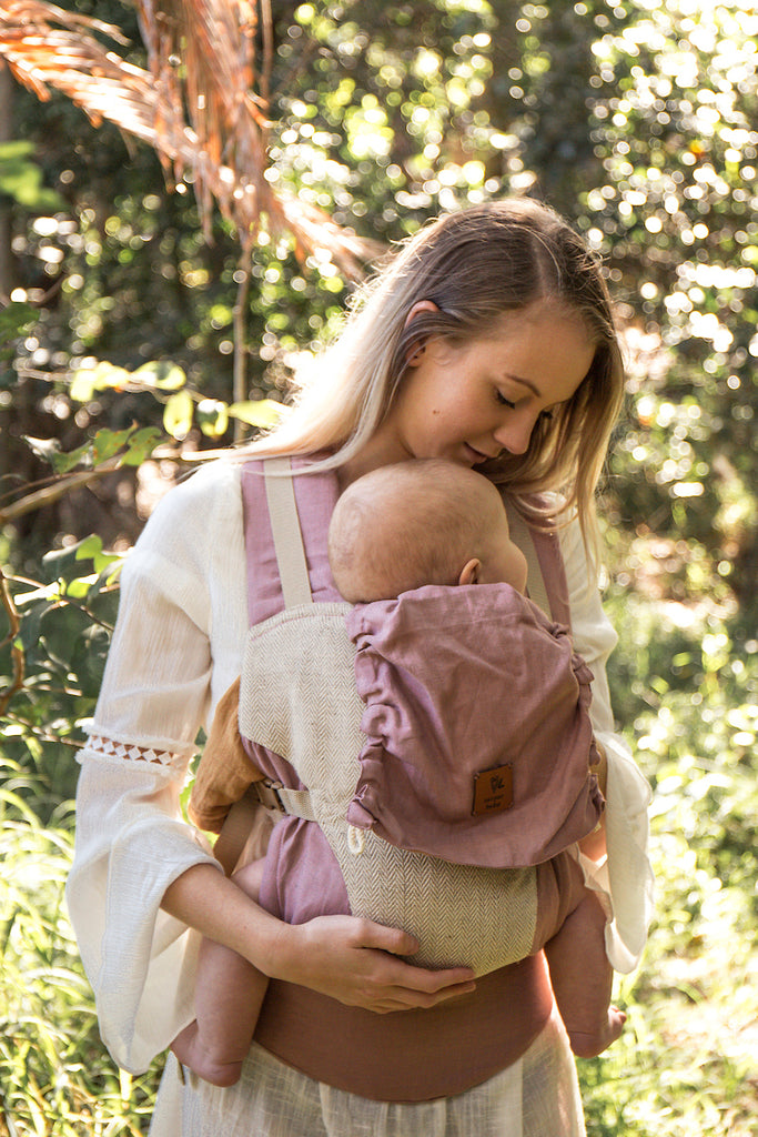 Rosewood Snap Baby Carrier