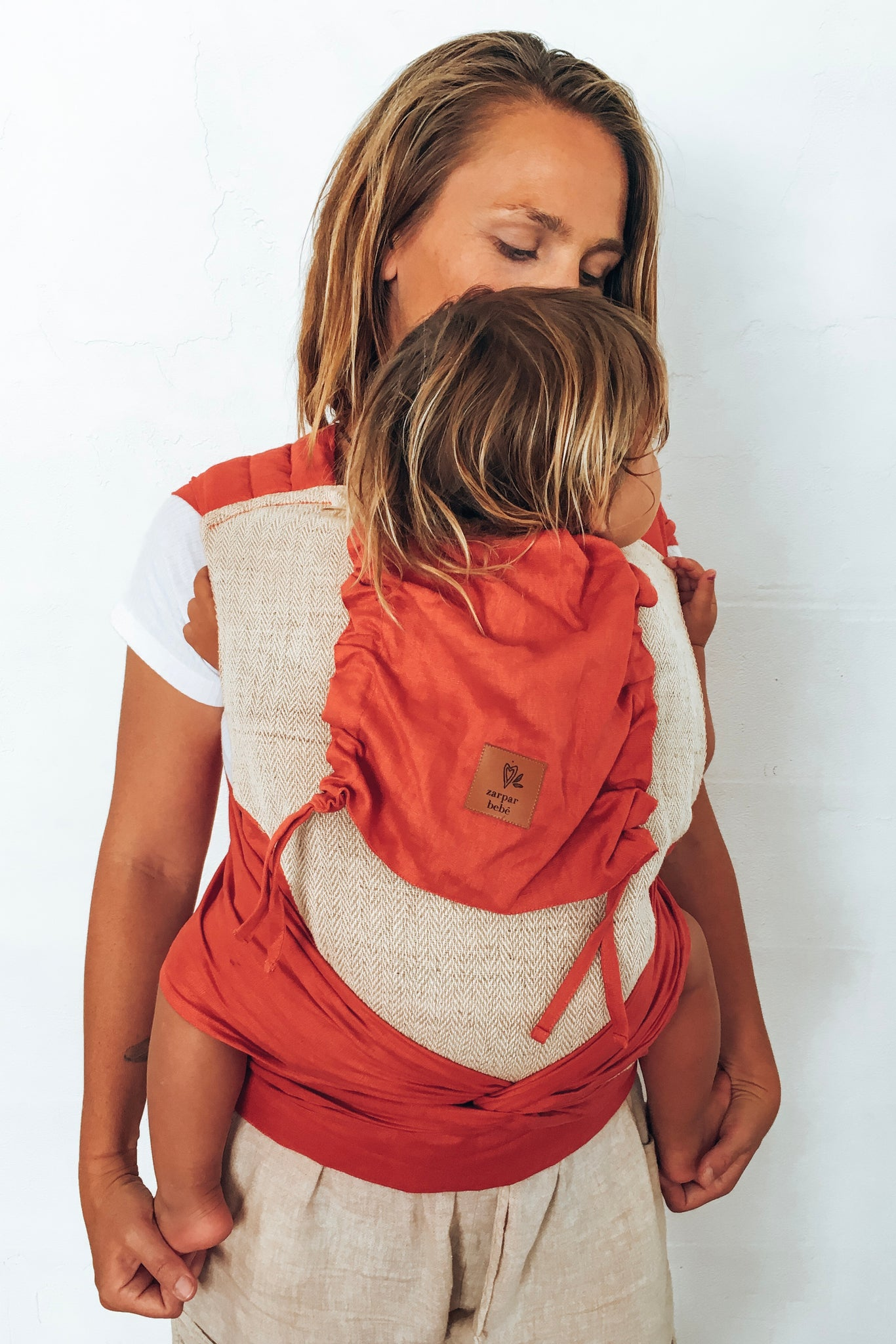 Red Sky Wrap Baby Carrier