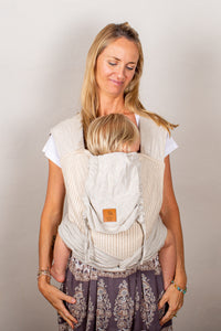 Refined Stripe Wrap Baby Carrier