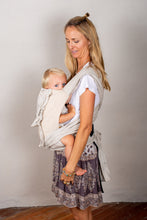 Load image into Gallery viewer, Refined Stripe Wrap Baby Carrier
