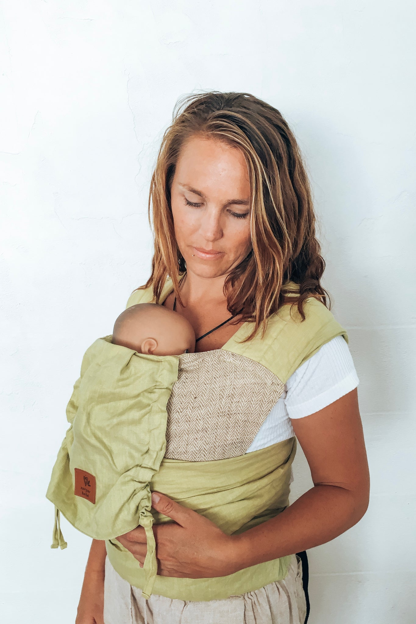 Wild Lime Wrap Baby Carrier