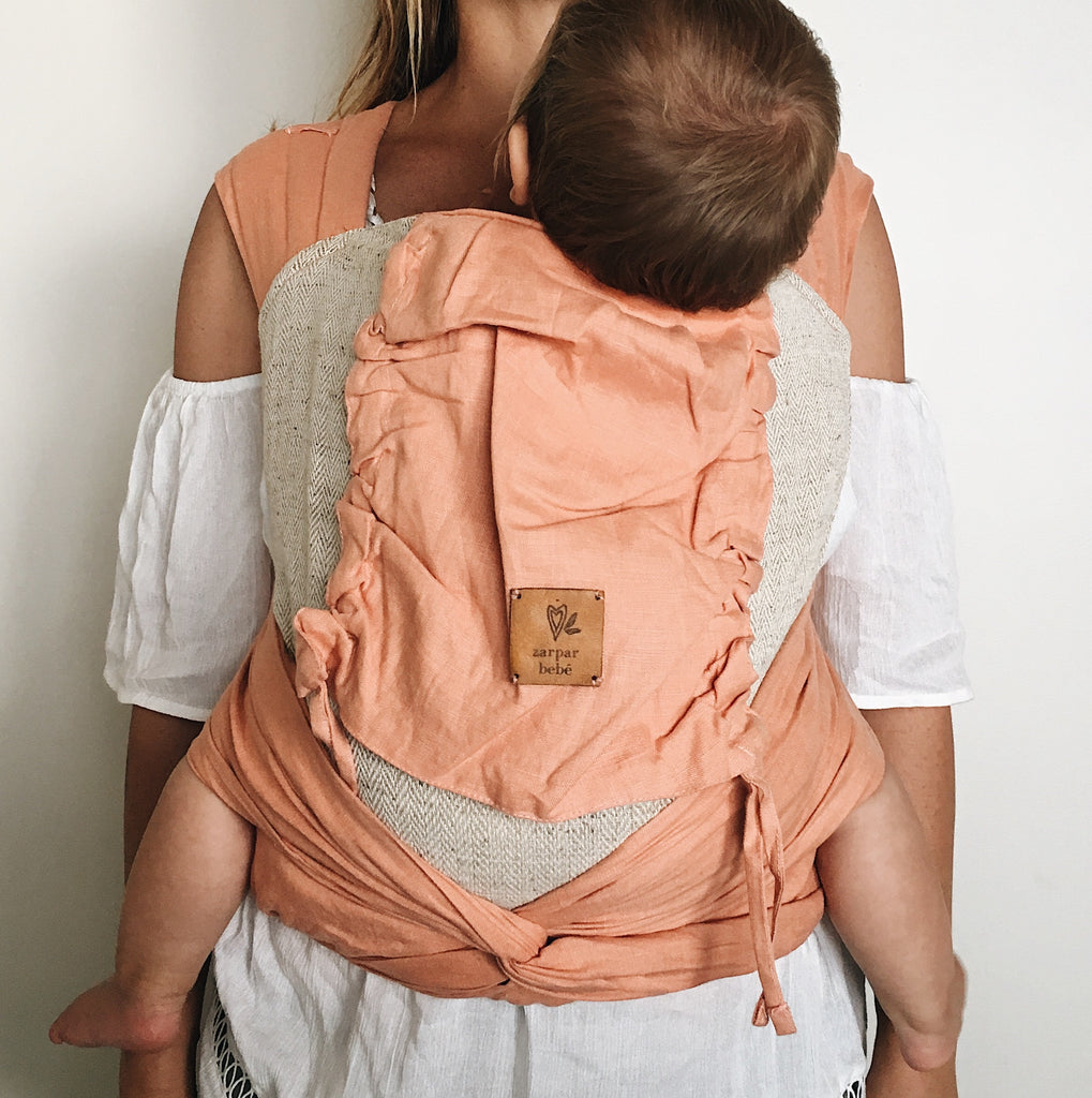 Apricot Wrap Baby Carrier
